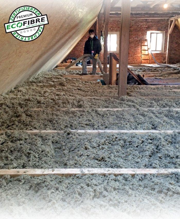 Dachboden selber dämmen